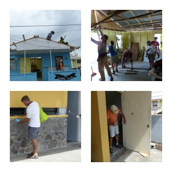Restoring Damaged Community Service Facilities